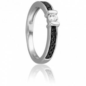 Bague Eva Or Blanc & Diamants