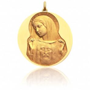 Médaille Sainte Véronique Or Jaune 18K - Becker