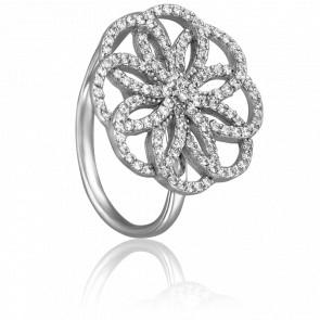 Bague Noémie Or Blanc & Diamants