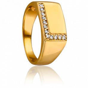 Bague Elsa Or Jaune & Diamants