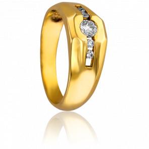Bague Luck Or Jaune & Diamants