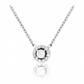 Collier Solstice Diamanté 0,14 ct