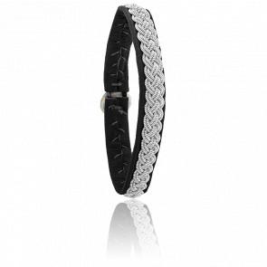 Bracelet Double 4 Noir