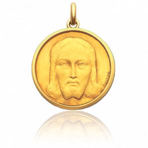 Médaille Salvator Mundi  Or Jaune 18K