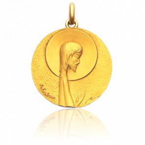 Médaille Christ Salvator Or Jaune 18K