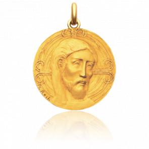 Médaille Christ Rédempteur Or Jaune 18K