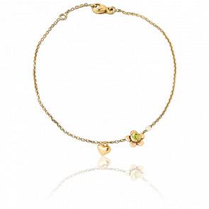 Bracelet Chaînette Daisy & Boum Boum Or Jaune 9K