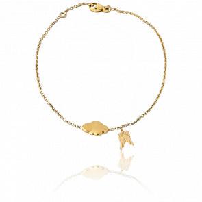 Bracelet Chaînette L'air De Rien & Cocoon Or Jaune 9K