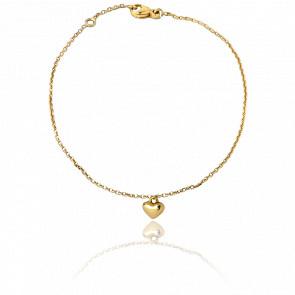 Bracelet Chaînette Boum Boum Boum Or Jaune 9K