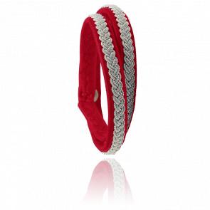 Bracelet Double-Tour Two Samis Cassis