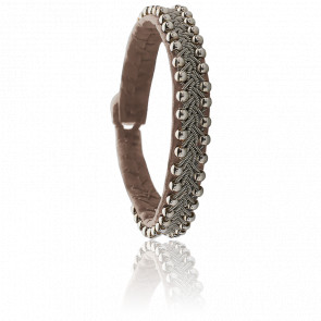 Bracelet Perla Taupe