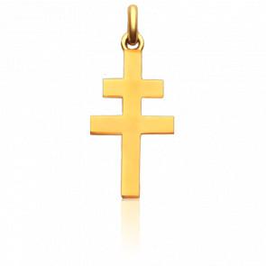Croix de Lorraine Or Jaune 18K