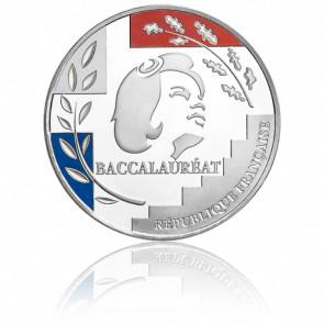Médaille du Baccalauréat Argent 3 Couleurs