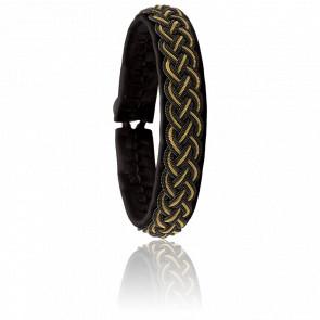 Bracelet Rocker Gold Noir
