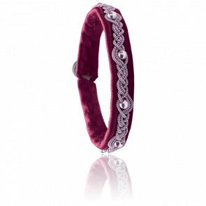 Bracelet Glitter One Cassis