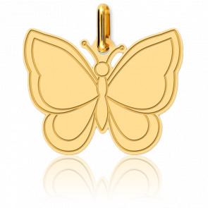 Pendentif Papillon Or Jaune 18K - Lucas Lucor