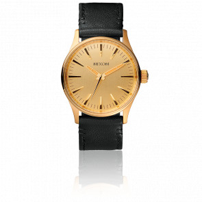 The Sentry 38 Leather Gold/Black A377-513