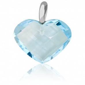 Pendentif Coeur Bleu - Bellon