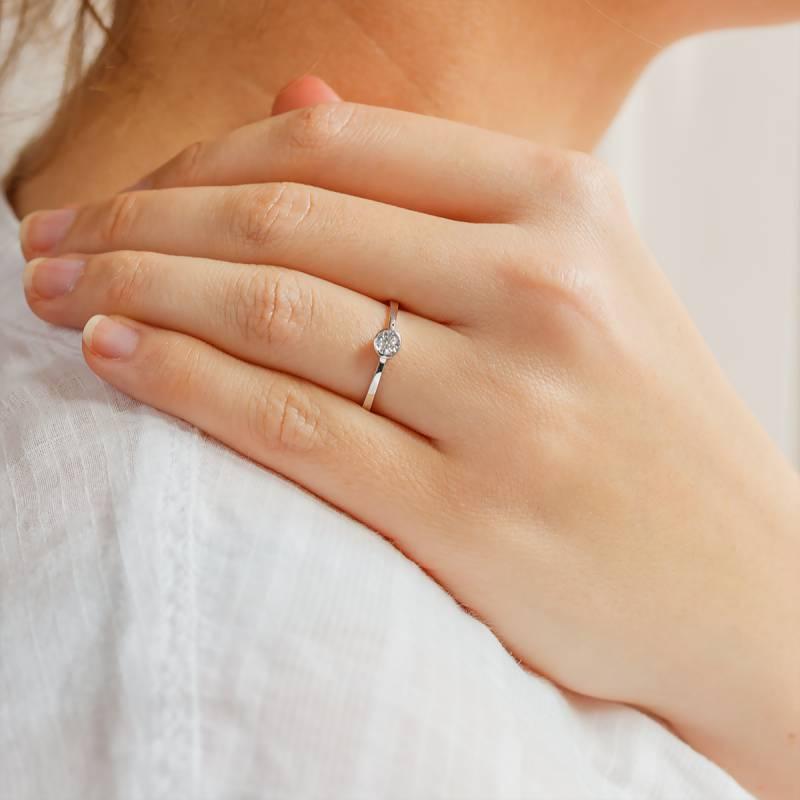 bague diamant 0 30 carat