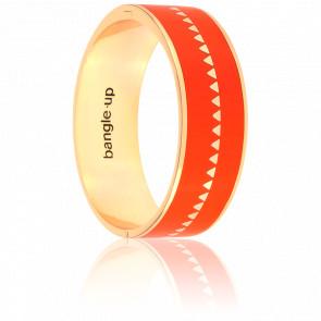 Bracelet Bollystud Ornementé Tangerine Plaqué Or Jaune