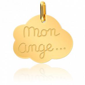 Médaille Mon Ange Or Jaune 18K