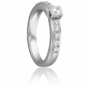 Solitaire Sophia Or Blanc 18K & Diamant 0,20ct / GSI
