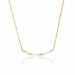 Collier Perles Nacrées Plaqué or