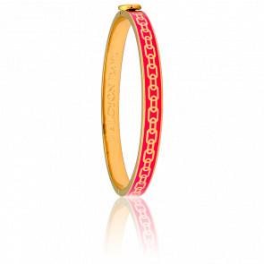 Bracelet Skinny Chain Rose & Doré