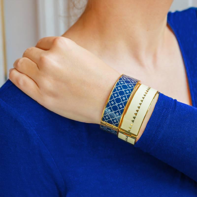 Bracelet manchette bangle up