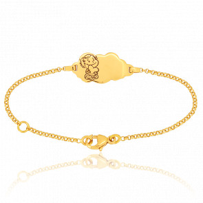 Bracelet Nuage Câline Or Jaune 18K