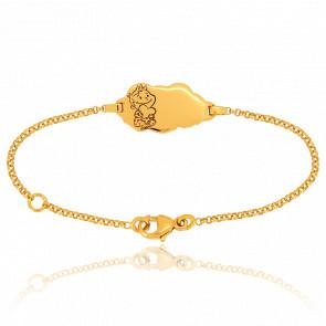 Bracelet Nuage Rêveur Or Jaune 18K