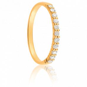Alliance Maha Or Jaune 18K & Diamants