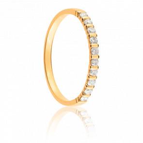 Alliance Mayssa Or Jaune 18K et Diamants 0.20 carat