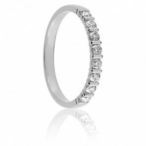 Alliance Mayssa Diamants & Or Blanc 18K