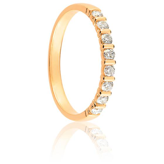 Alliance Mayssa Or Jaune 18K et Diamants 0.30 carat