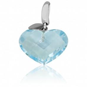 Pendentif Heart Bleu