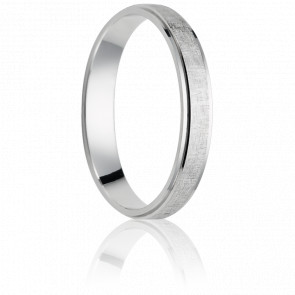 Alliance Callao 5 mm Or Blanc 18K