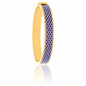Bracelet Salamander Bleu Cobalt & Doré