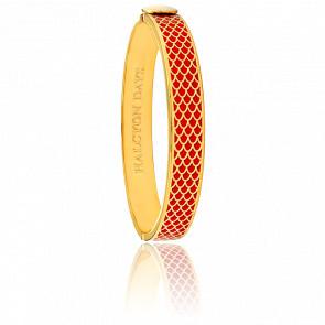 Bracelet Salamander Rouge & Doré
