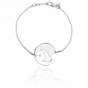 Bracelet Fay Papillon Plaqué Argent