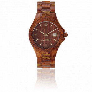 Montre Rocky Santal Rouge 40mm