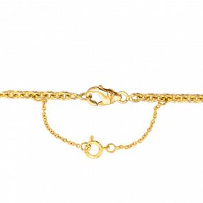 Chaînette de sécurité en or jaune 18 carats