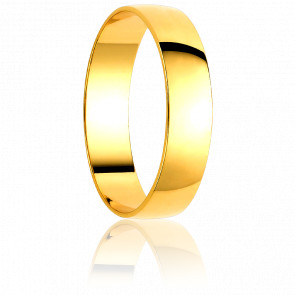 Alliance Piura 2 mm Or Jaune 18K