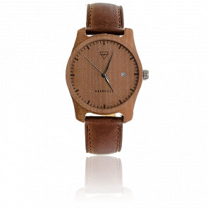 Montre Laufruhe Birchwood/Tanned Brown