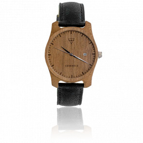 Montre Laufruhe Walnut/Black