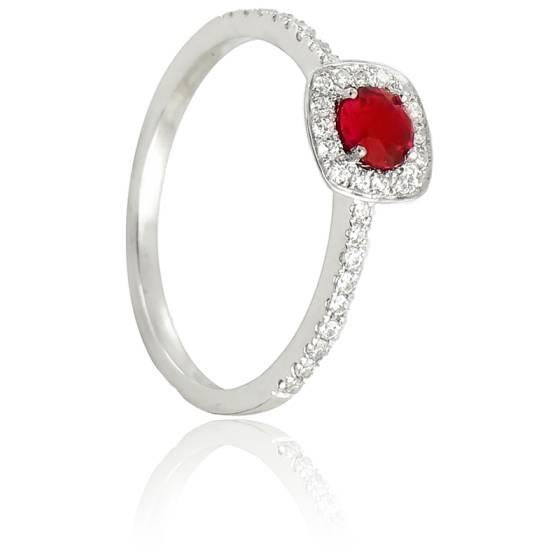 bague diamaline or blanc rubis diamond lady ocarat. Black Bedroom Furniture Sets. Home Design Ideas