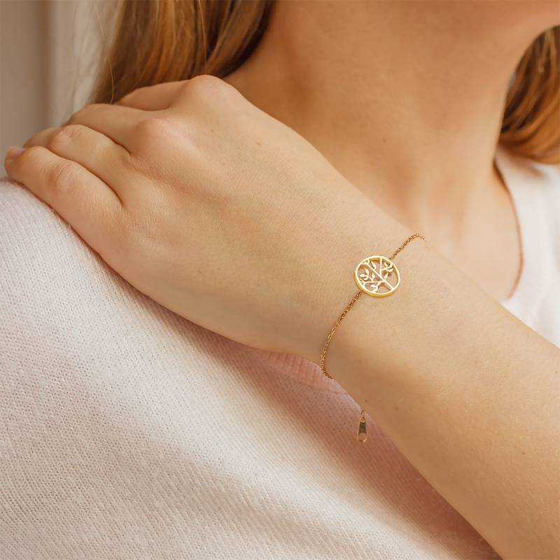 bracelet femme arbre de vie or