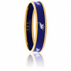Bracelet Elephant Bleu & Doré PM - Halcyon Days