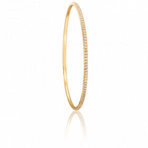 Bracelet Giselle 56 mm en Or Jaune 18K et Diamants