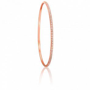 Bracelet Giselle 56 mm en Or Rose 18K et Diamants